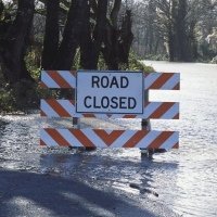 E-law - Flooding - Types of Flooding - Flooded Road